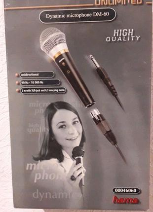 "Микрофон ""Hamma DM 60"""