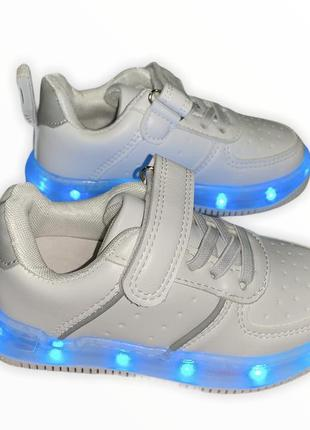 Led кроссовки, светящиеся кроссовки, usb кроссовки