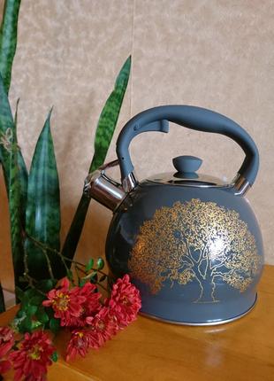Чайник со свистком 2литра