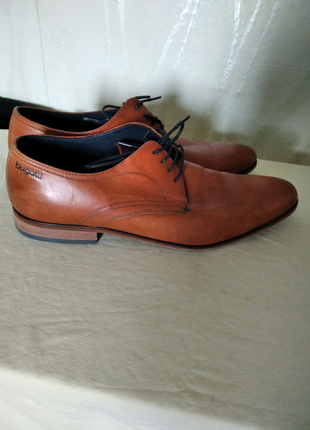 Туфли кожа bugatti Италия