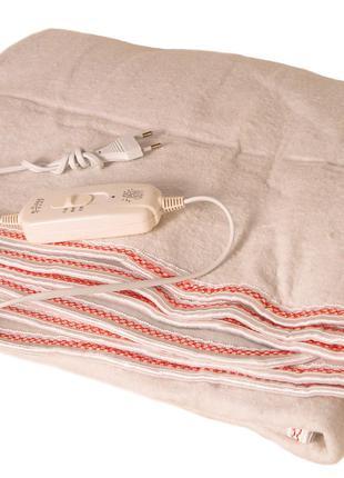 Электропростынь Electric blanket 5713 150х150 см, белая 297522
