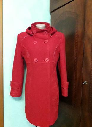 Теплое осенне весеннее пальто