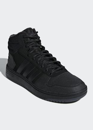 Мужские кроссовки adidas hoops 2.0 mid(артикул:b44621