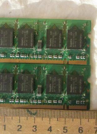 Память оперативная для ноутбука SODIMM Hynix 512MB