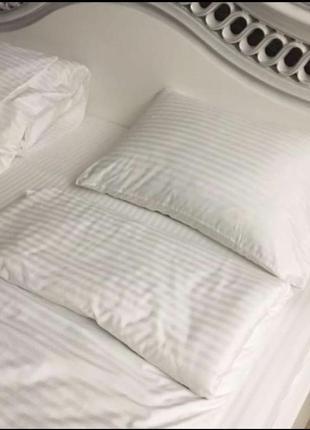 Белоснежное постельное белье всегда модное в наличии хит