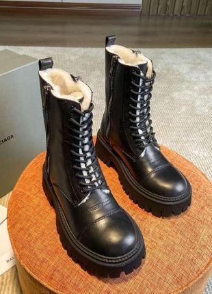 Шикарные женские зимние ботинки