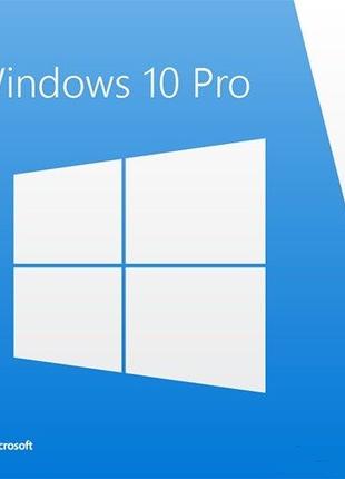 Лицензия Microsoft Windows 10 Pro 64-bit Ukrainian OEM(FQC-08978)