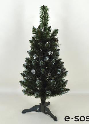 Искусственная елка Европейская с шишками 100 см