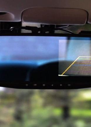Зеркало видеорегистратор на 2 камеры , авторегистратор , камер...