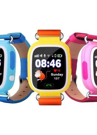 АКЦИЯ! Smart Baby Watch Q80 Детские Часы Smart Watch GPS Телефон