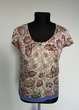 Шелковая блуза etro