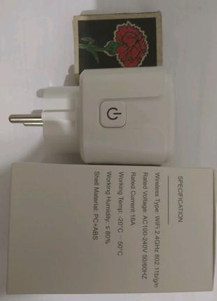 Умная розетка wi fi. Измеряет мощность и ток