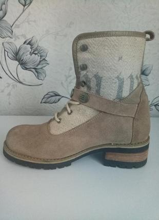 Ботинки замшевые stockerpoint германия