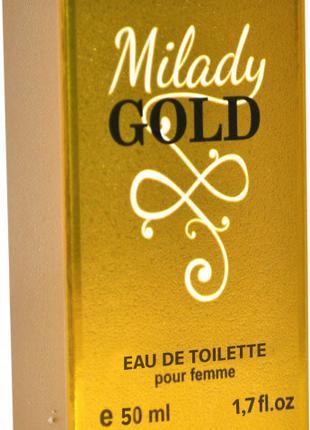 Туалетная вода для женщин Milady gold 50 мл