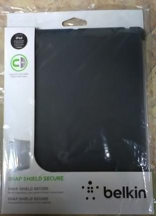 Чехол Belkin Snap Shield Secure для iPad 2/3/4 Grey (F8N745cwC00)