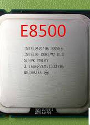 Intel Core 2 Duo E8500 s775