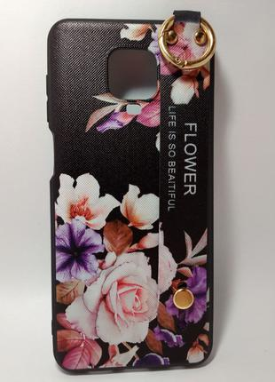Задня накладка Xiaomi Redmi Note9s/Pro Flower Rope Case Black