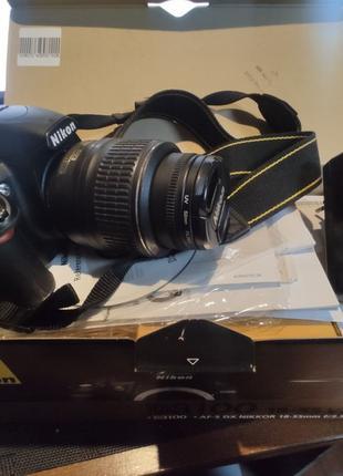 Фотоаппарат зеркальный Nikon D3100+18-55Kit