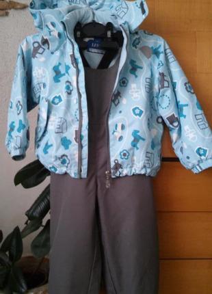 Комплект (куртка + полукомбинезон) lassie, финляндия
