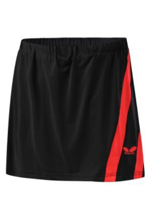 Юбка-шорты Butterfly с красной полоской