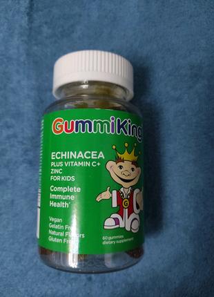 Цинк детский с эхинацеей  Витамин С желейки Gummi king