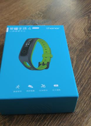 Фитнес Браслет Honor Band 4 Running Edition Green