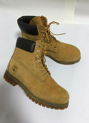 Черевики ботинки шкіряні timberland