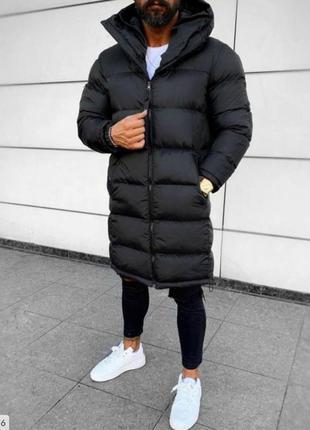 Мужская зимняя куртка- пальто. турция. 44-54р