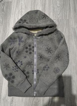 Теплая куртка кофта