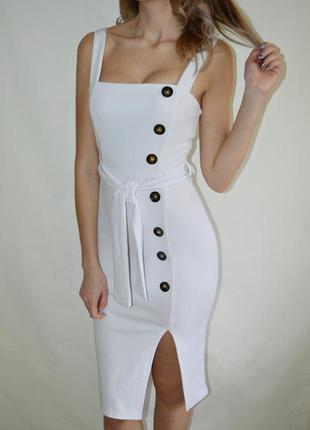 Красивое новое платье миди сарафан по фигуре