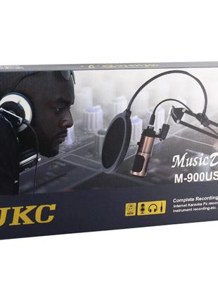 Микрофон студийный UKC DM K1 USB 900U