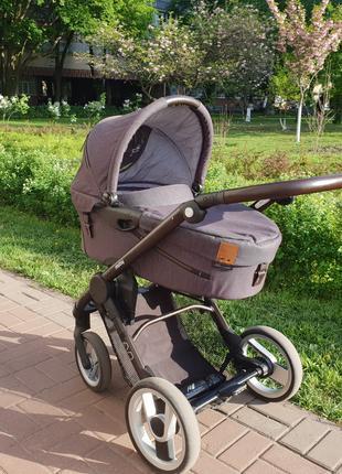 Супер коляска-люлька Mutsy Evo Industrial
