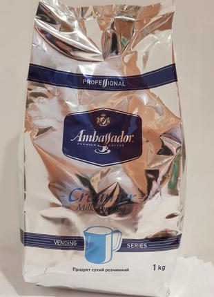 Растворимые сухие сливки в гранулах Ambassador Creamer Milk