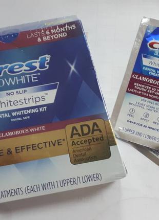 Отбеливающие полоски Crest 3D White Luxe Whitestrips Glamorous