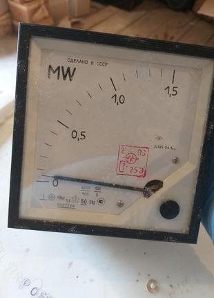 Ваттметр Д-365 0-1,5МВт.   -1шт. 250грн