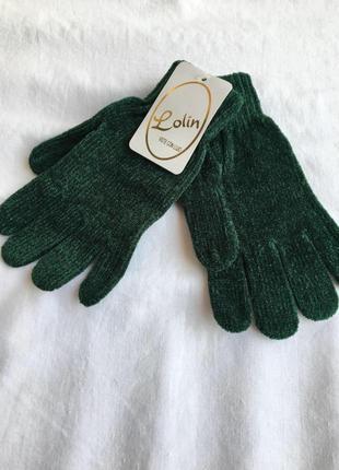 Тёплые женские перчатки /рукавиці