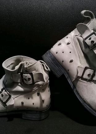 Замшевые ботинки Kookai