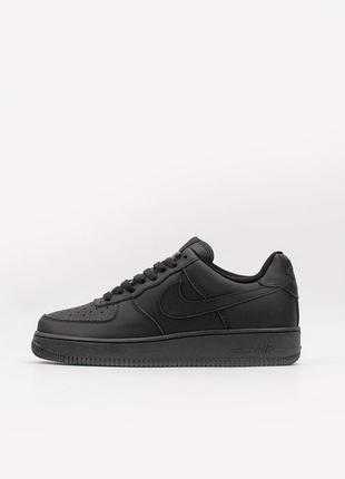 "Кроссовки nike air force 1 07 ""black"""