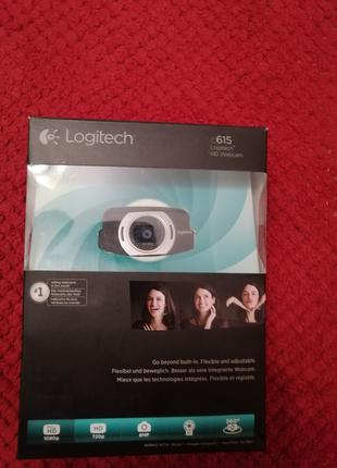 Веб камера logitech c615