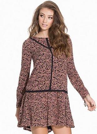 Платье с цвточным принтом vero moda, размер s