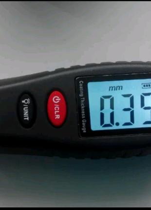 Толщиномер краски + батареи Тестер толщины ЛКП YNB-100 Yunombo