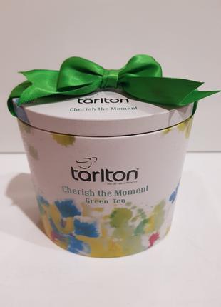 """Чай подарочный зеленый Тарлтон Tarlton """"Наслаждение"""" 100г"""
