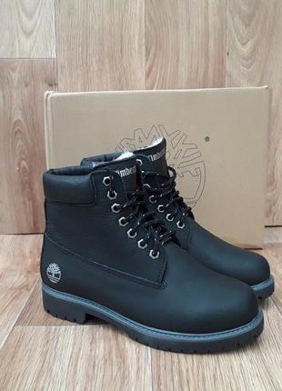 Подростковые зимние ботинки timberland classic winter кожаные....
