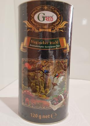 Подарочный чай с клубникой Лесная сказка Gred, 120г