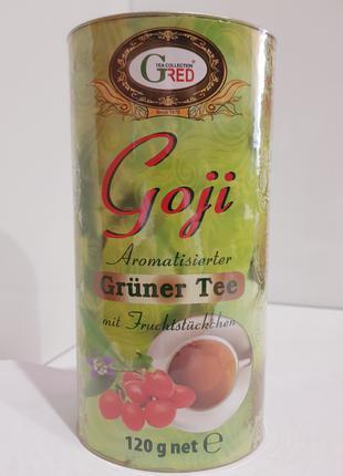 """Подарочный зеленый чай с ягодами годжи """"Годжи"""" Gred, 120г"""