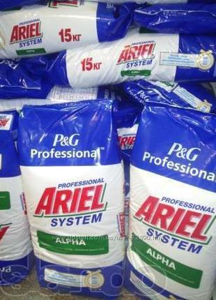 Стиральный порошок Ariel Professional Alpha 15 кг ОРИГИНАЛ!