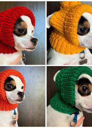 Шапки для собак / шапка для собаки / одежда для собак / шапки