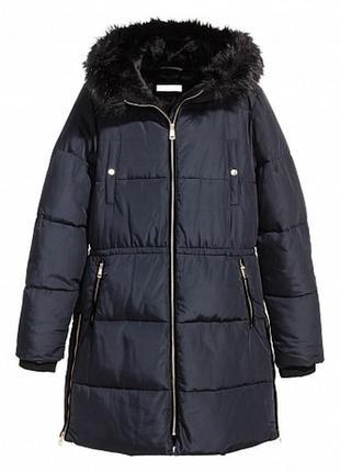 Утепленная куртка с капюшоном h&m артикул: 9012915