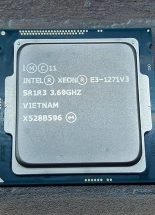 Intel xeon E3-1271v3 3.6-4.0 Ghz (аналог i7-4790 . i7-4770 i7-...