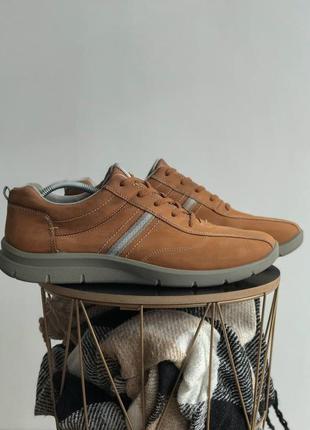 Мужские кожаные кроссовки hotter ecco